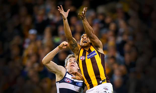 Cameron Guthrie preparing for the biggest challenge of his career on Hawthorn dynamo Cyril Rioli