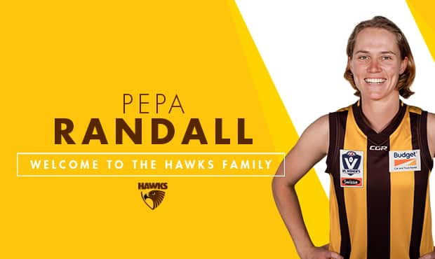 Randall will wear the brown and gold in 2018. - Pepa Randall