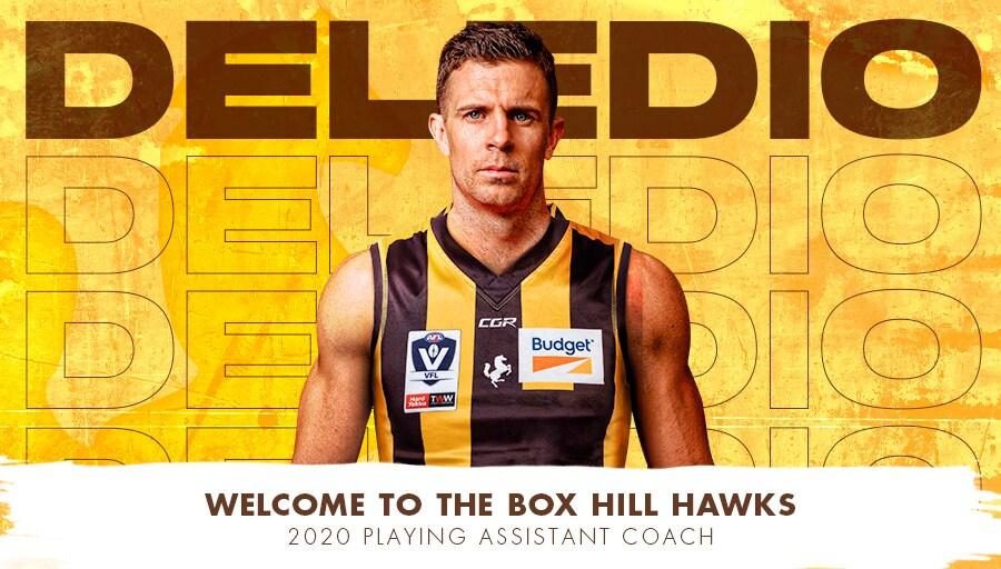 Deledio, Otten to join the Hawks