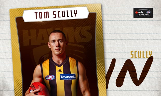 Tom Scully Will Don The Brown And Gold In  Tradetom Scully