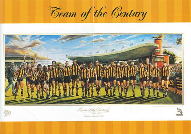 Team Of The Century Hawthornfc Com Au