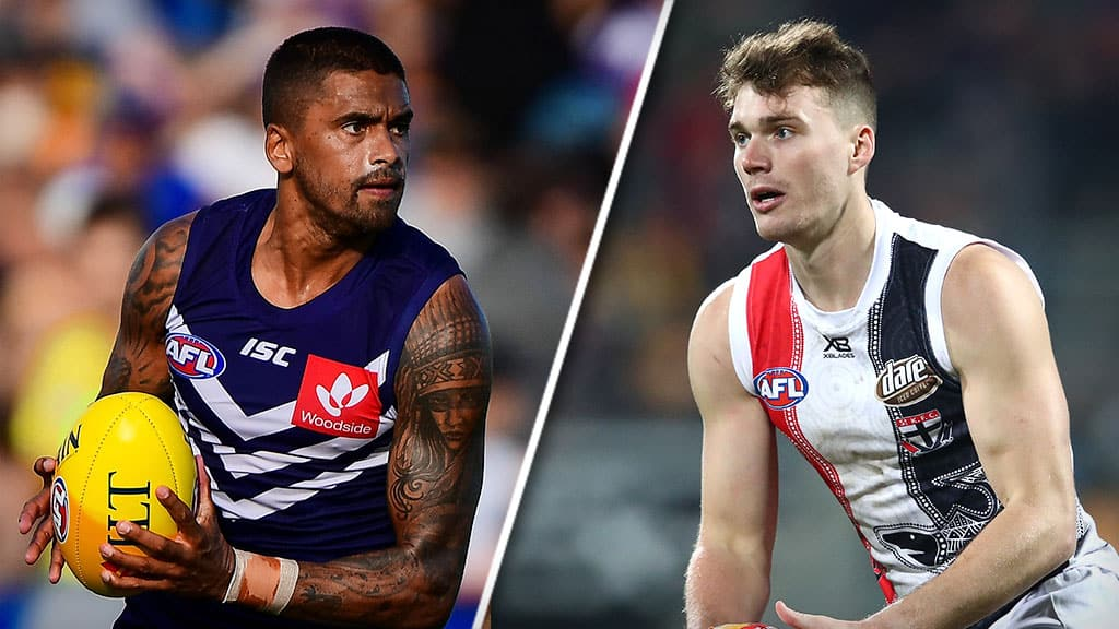 Huge twist in Hill deal: Freo cleans up as speedster, Acres trade places