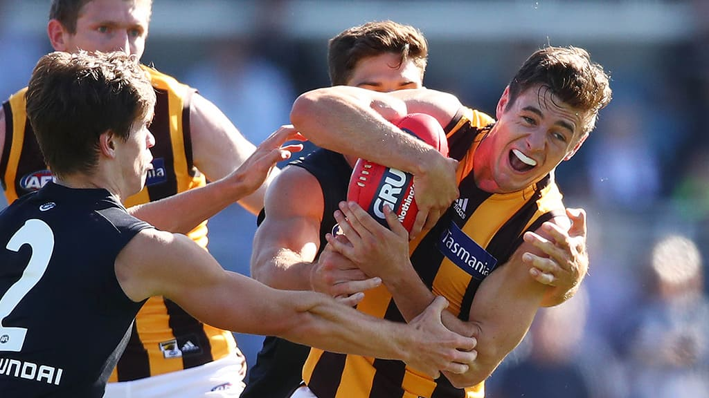 Young Hawk stakes claim for vacant midfield spot
