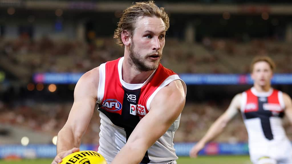 Jimmy Webster will miss the next fortnight following hand surgery - AFL,St Kilda Saints,Injuries,Jimmy Webster