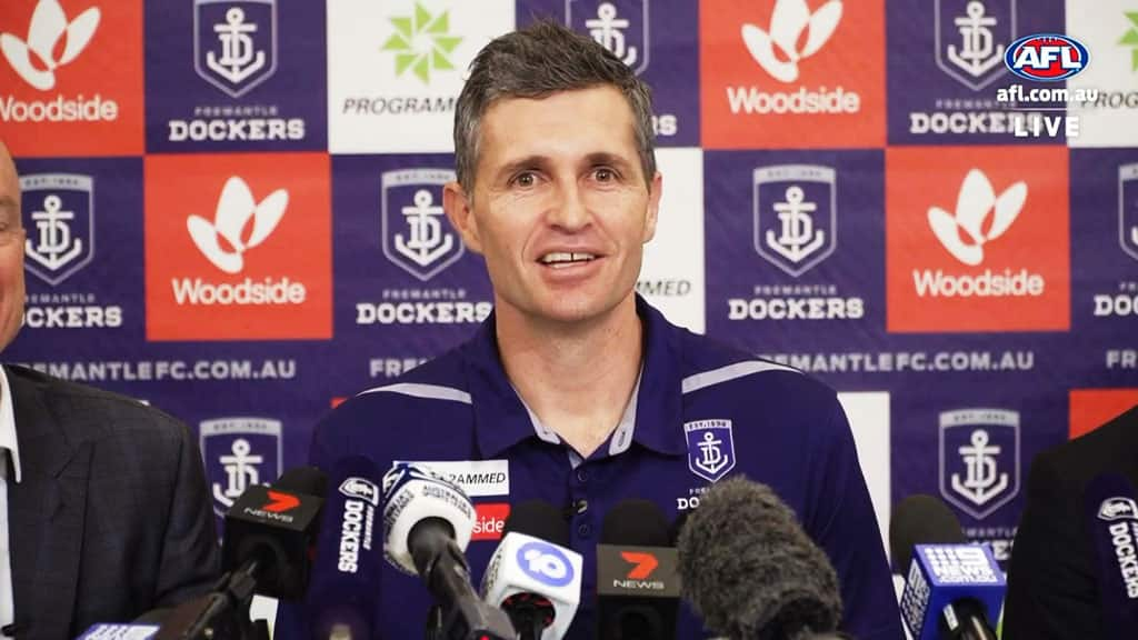 Justin Longmuir is Fremantle's new coach - AFL,Fremantle Dockers,Justin Longmuir