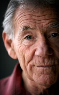 Tom Hafey poses during an AFL Record Magazine portrait shoot on June 19, 2007 in Melbourne. (Photo: Lachlan Cunningham/AFL Media)