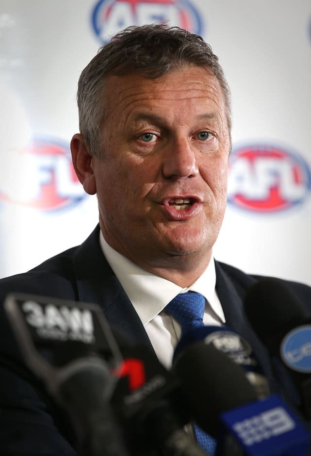 AFL football operations boss Mark Evans - ${keywords}