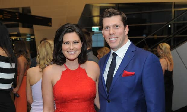 Alana Smith and Andrew Fagan at Adelaide's Club Champion event last year