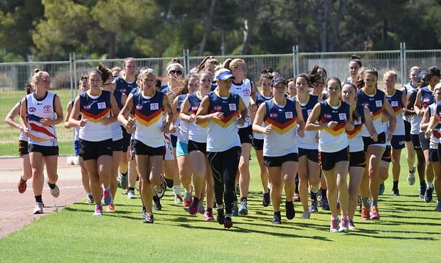 Adelaide 2016 - Women All Star talent trial