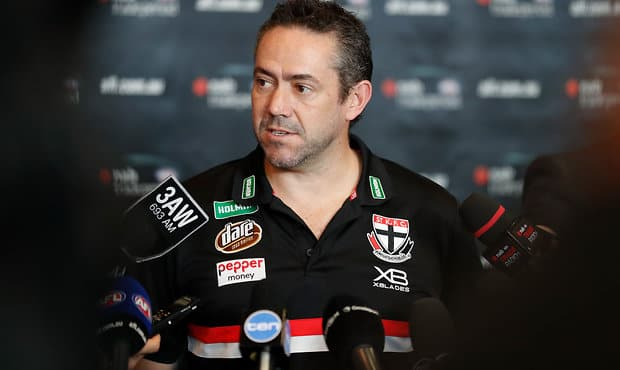General Manager of Football Simon Lethlean on the Saints' possible trade movements. - St Kilda Saints,Simon Lethlean,Trade