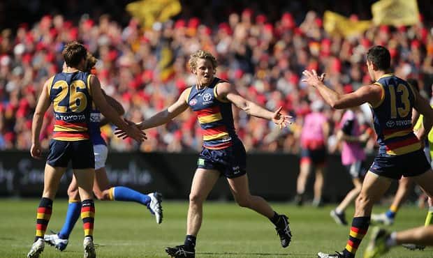 AFL 2015 Rd 22 - Adelaide v West Coast