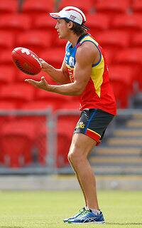 AFL 2015 Training - Gold Coast 171215