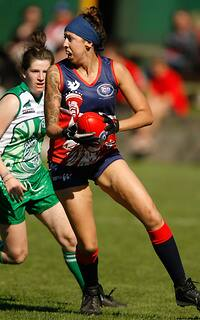 AFL 2011 Media - International Cup Womens Ireland v USA