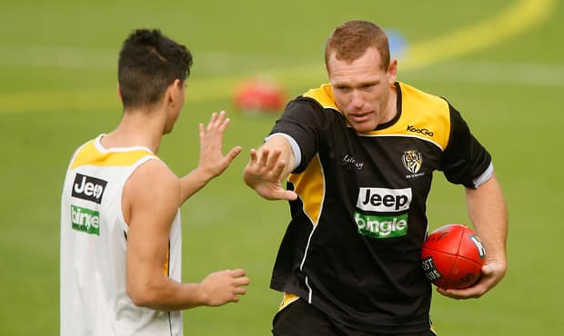 AFL 2012 Training - Richmond 010512