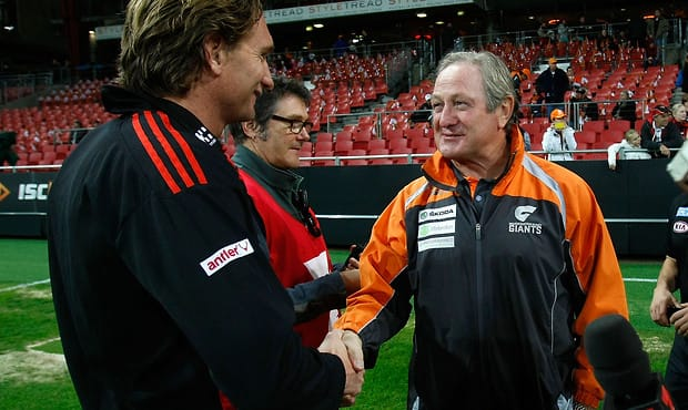 AFL 2012 Rd 09 - GWS Giants v Essendon