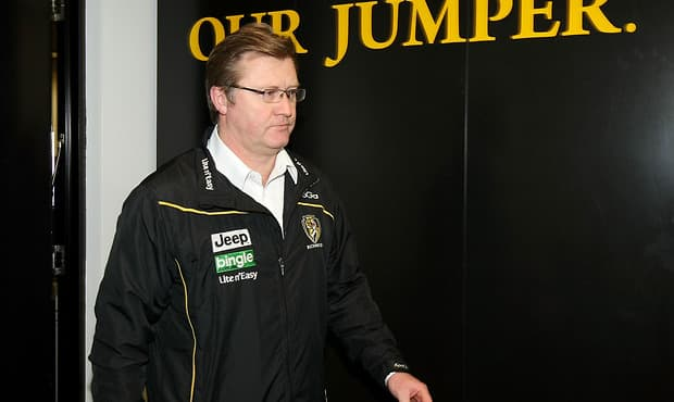 AFL 2012 Media - Richmond Press Conference 040712