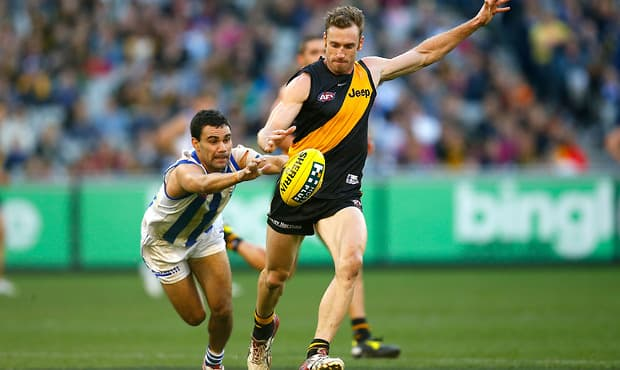 AFL 2012 Rd 17 - Richmond v North Melbourne