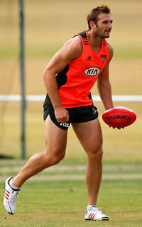 AFL 2013 Training - Essendon 090113