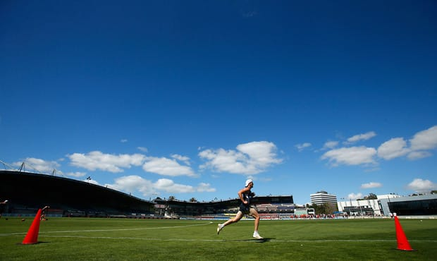 AFL 2013 Training - Carlton 230113