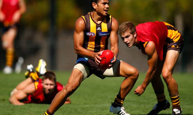 AFL 2013 Training - Hawthorn 300113