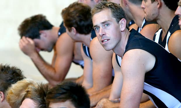 AFL 2013 Media -  Collingwood Team Photo Day
