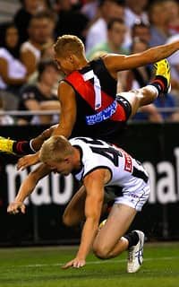 AFL 2013 NAB Cup Rd 01 - Collingwood v Essendon