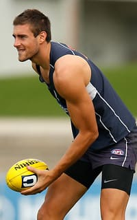 AFL 2013 Training - Carlton 090413