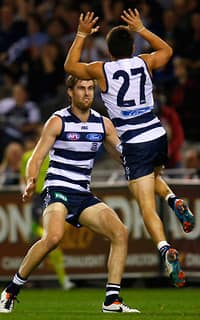 AFL 2013 Rd 07 - Geelong v Essendon