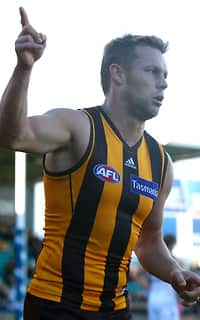 Sam Mitchell was again superb for the Hawks