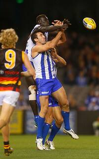 AFL 2013 Rd 09 - North Melbourne v Adelaide