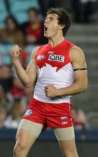 AFL 2013 Rd 20 - Sydney v Collingwood