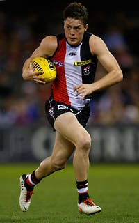 Jack Steven has established himself as one of the best young midfielders in the AFL this year.