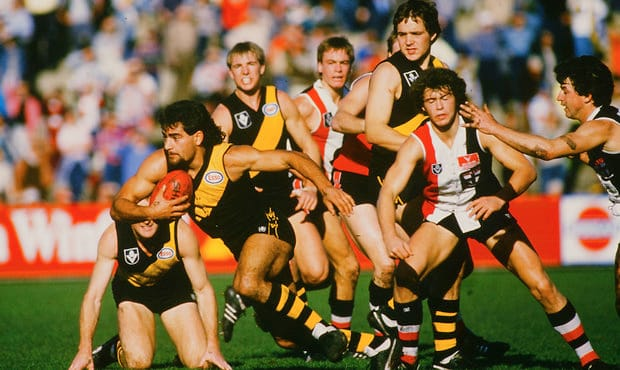 VFL 1985 - Richmond v St Kilda