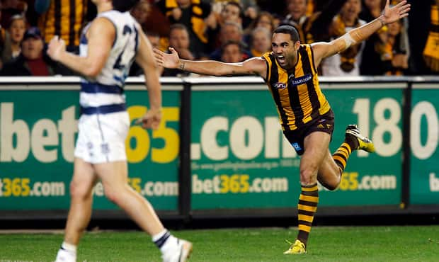 Image result for geelong vs hawthorn 2013 preliminary final