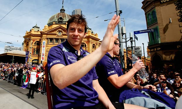 AFL 2013 Media - Toyota Grand Final Parade
