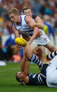 AFL 2014 Practice Match - Geelong v North Melbourne