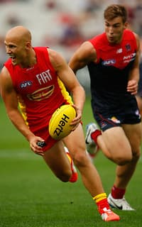 Gary Ablett was again instrumental as the Suns overpowered the Demons