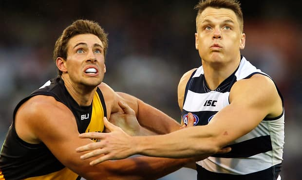AFL 2014 Rd 07 - Geelong v Richmond