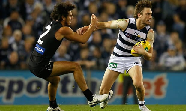 AFL 2014 Rd 12 - Geelong v Carlton