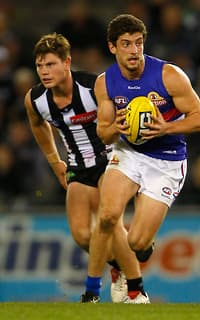 Tom Liberatore was absolutely enormous as the Dogs beat Collingwood