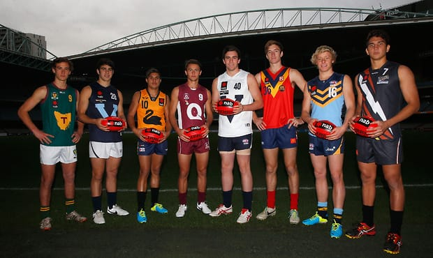 AFL 2014 Media - NAB AFL U18 Championships Press Conference