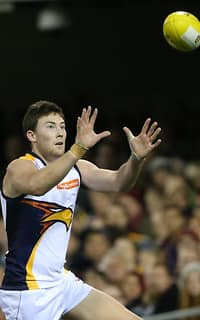 Jeremy McGovern in action against the Lions on Saturday night