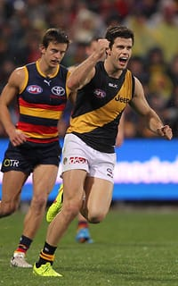A maturing Trent Cotchin led from the front again