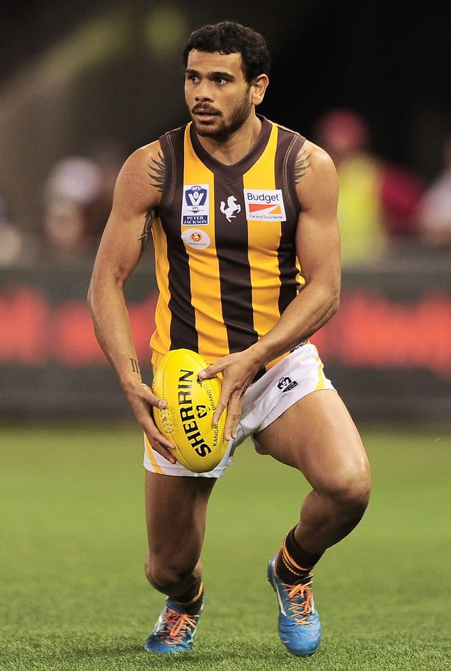 Cyril Rioli in action for the Box Hill Hawks during the 2014 Grand Final - ${keywords}
