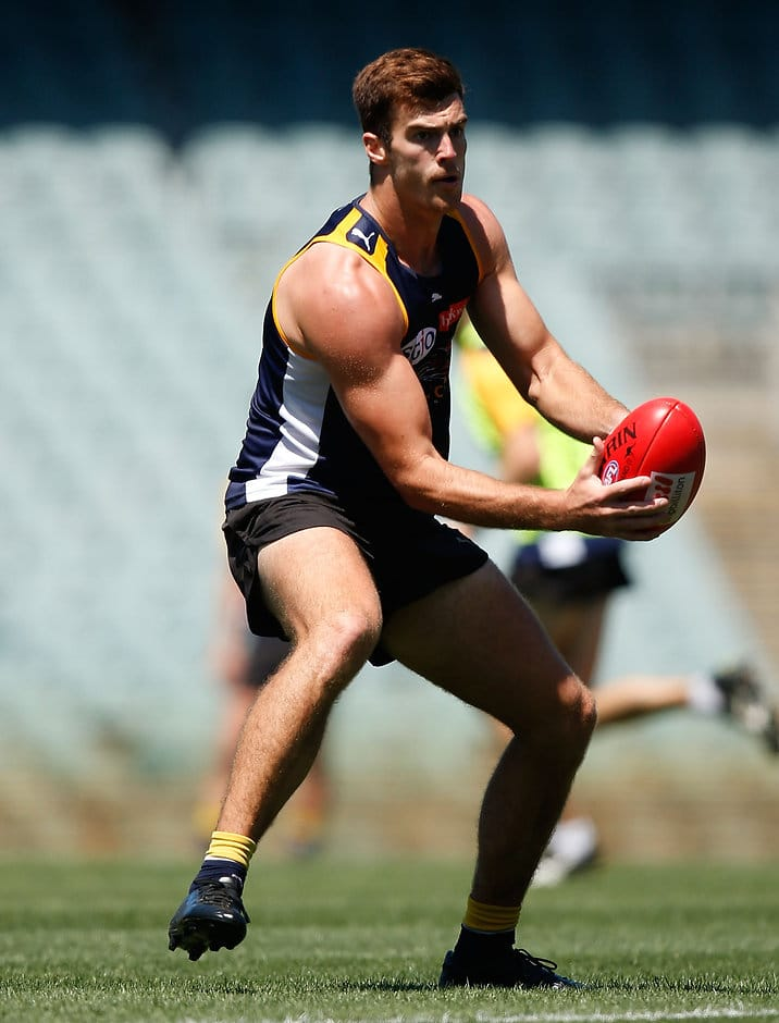 Scott Lycett failed to train fully on Monday after pulling up sore from the intra-club - ${keywords}