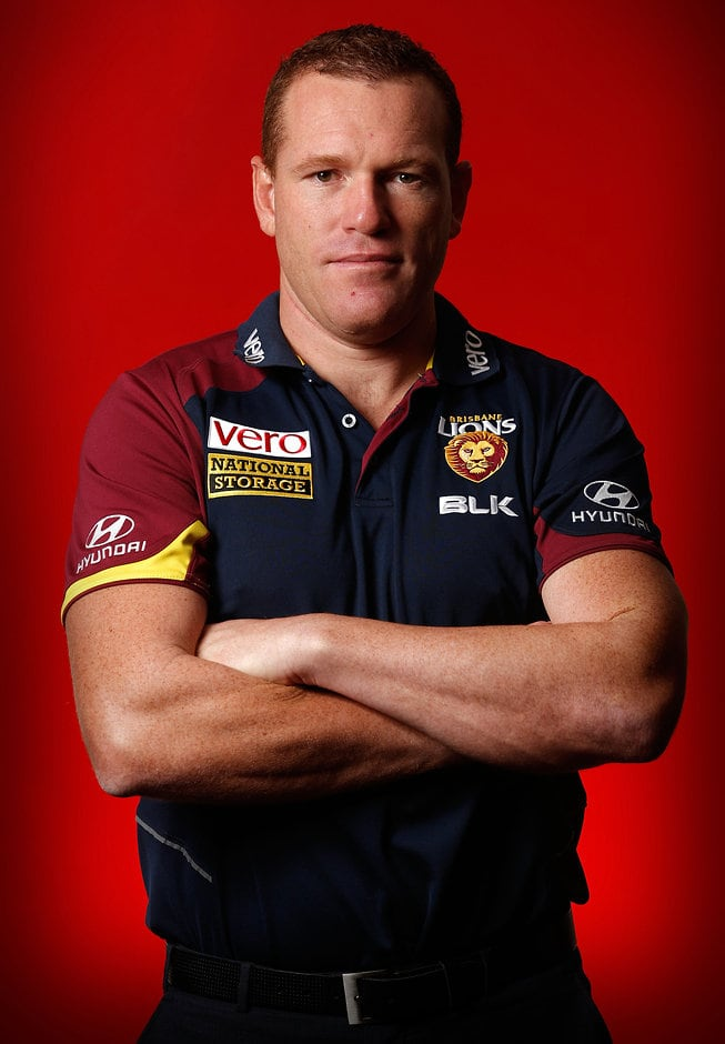 Brisbane Lions coach Justin Leppitsch - ${keywords}