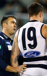 Chris Scott says the Cats will rally around Mitch Clark