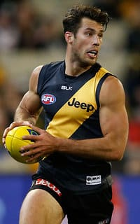 Alex Rance was impassable in Richmond's backline in Friday night's win