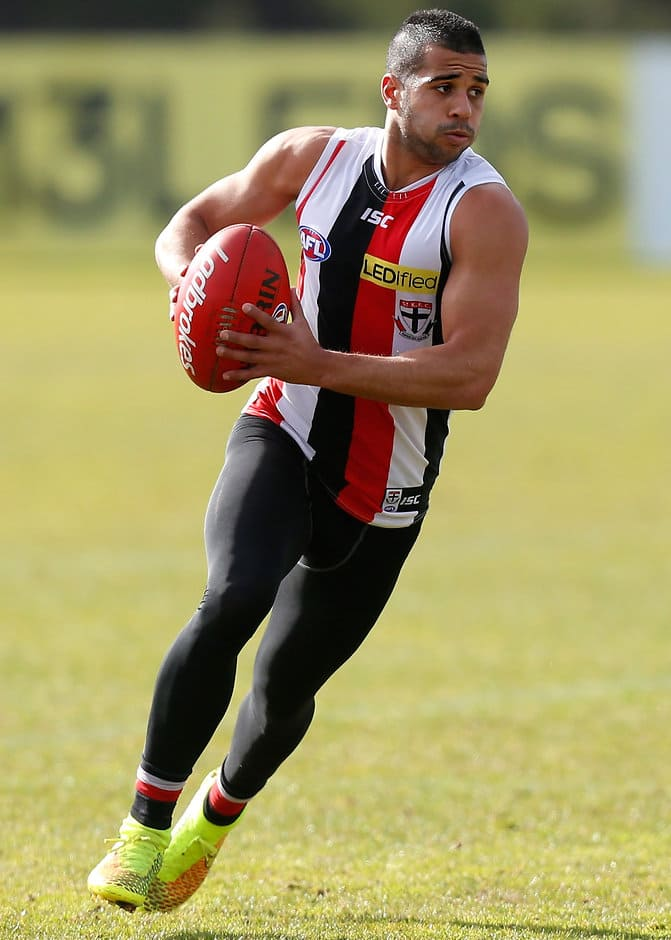 Ahmed Saad is hoping to be picked up by Essendon as a top-up player - ${keywords}