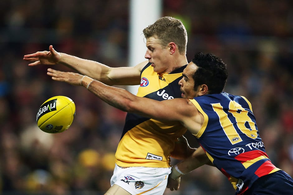 Eddie Betts' forward line pressure is a key to the Crows' success - ${keywords}